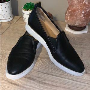 Everlane Street shoe loafer black leather 7.5
